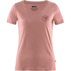 Fjällräven 1960 Logo T-Shirt Women raspberry red/melange
